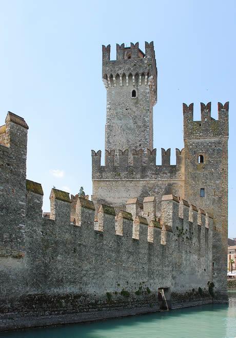 Schloss Sirmione, Gardasee
