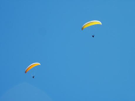 Gleitschirmfliegen Gardasee Italien