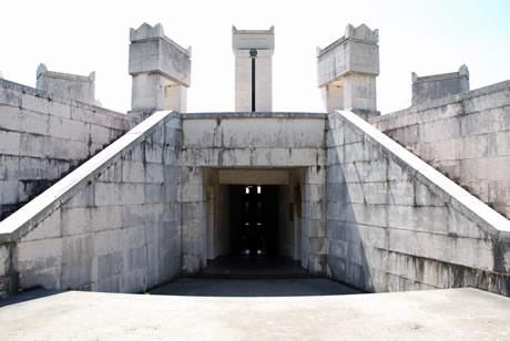 Mausoleum Gabriele D'Annunzio