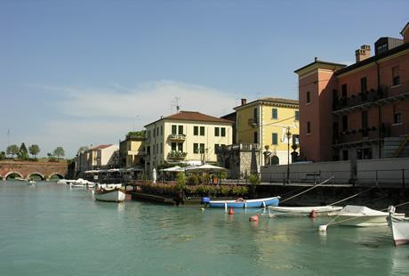 Pescheira Gardasee, Italien