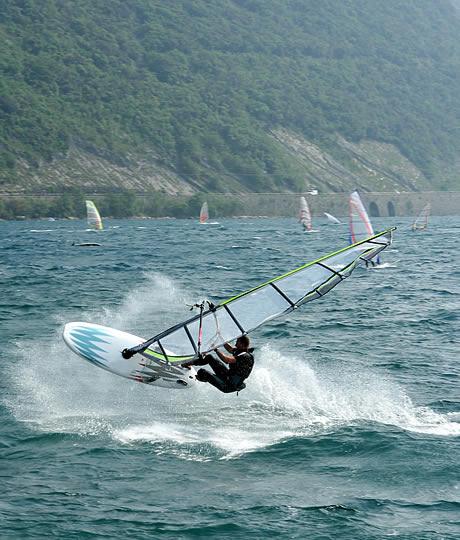 Windsurfen Gardasee