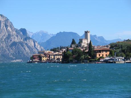 Castello Scaligeri din Malcesine, Lacul Garda