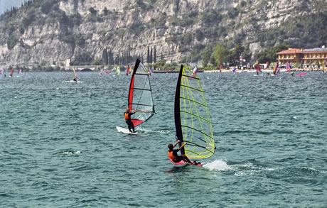 Windsurfing Garda